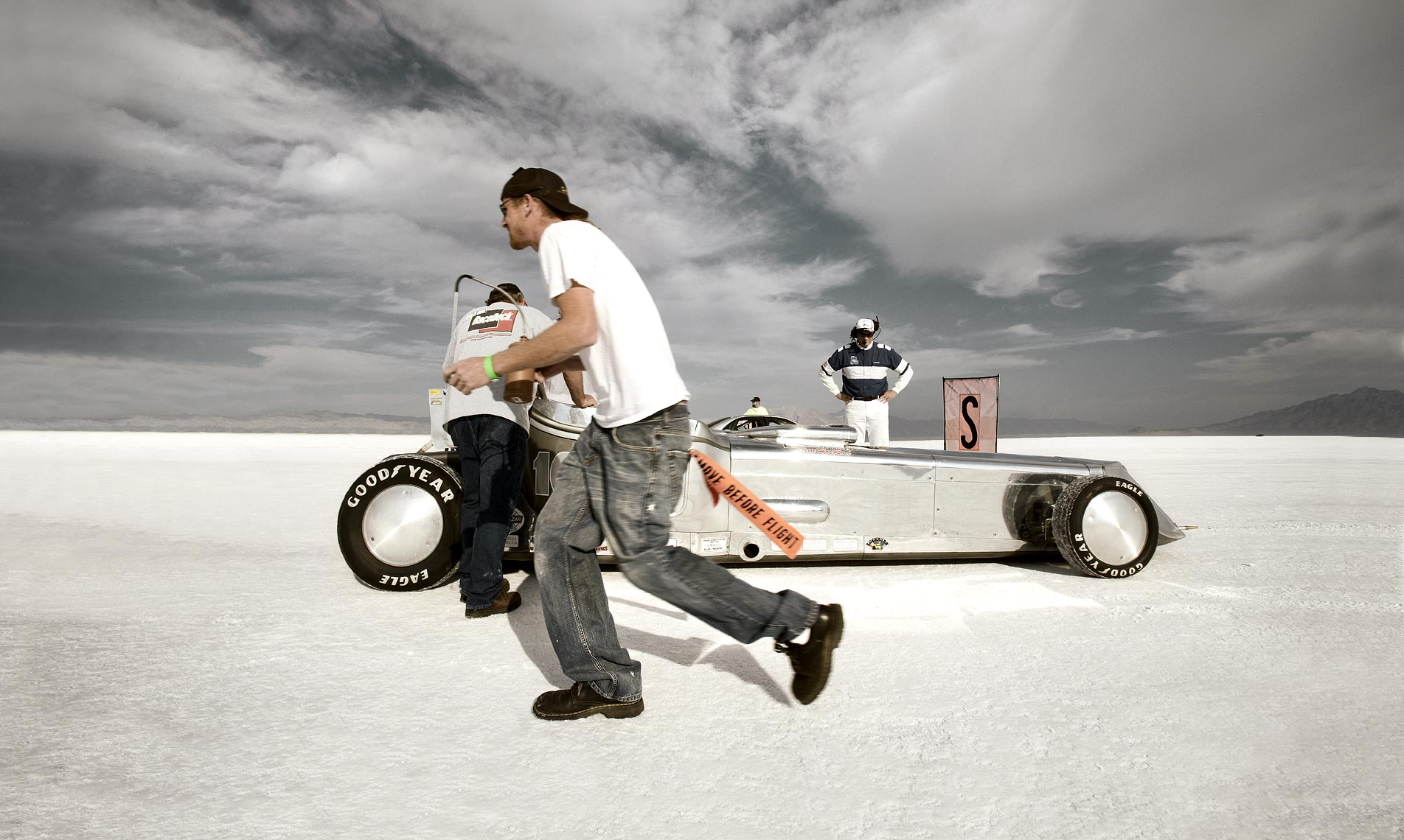 KC Armstrong_Bonneville Salt Flats_Speed Racing_Speed Week