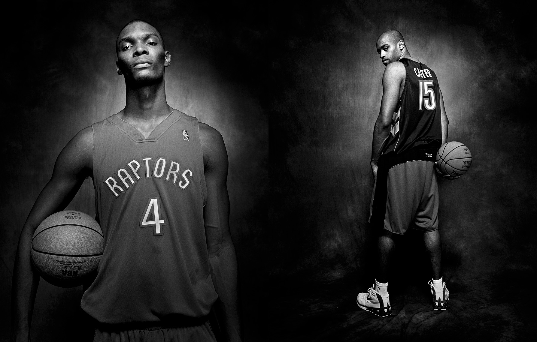 Toronto Raptors_Chris Bosh_Vince Carter